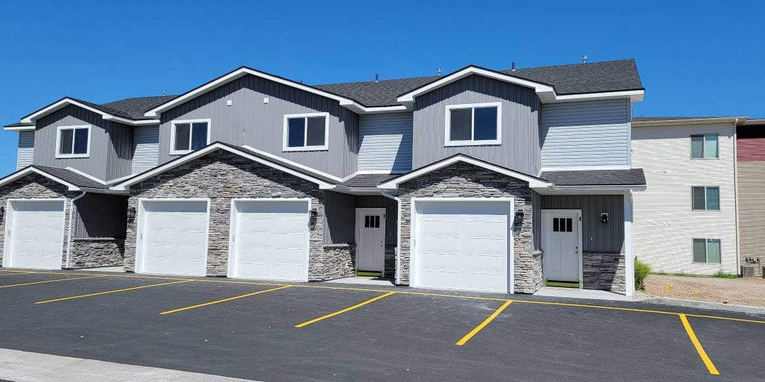 New townhomes, move-in ready!